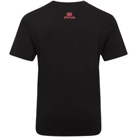 Sherpa Tarcho Camiseta Hombre, black